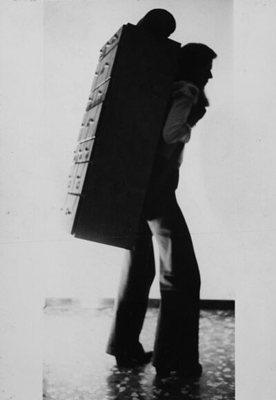César, 'Il traghetto, Venice', 1972