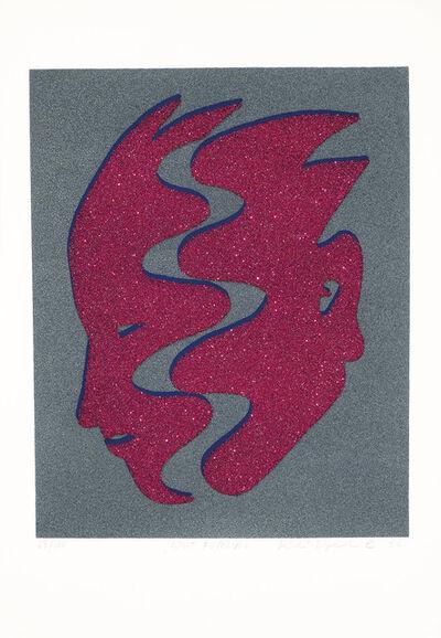 Kiki Kogelnik, 'Split Fuchsia', 1996
