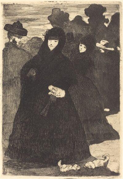 Édouard Manet, 'At the Prado (Au Prado)', 1865/1868