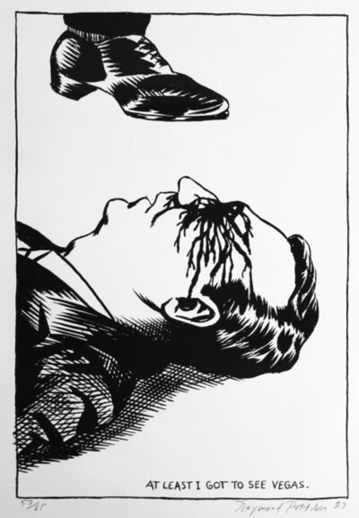 Raymond Pettibon, 'Untitled (At Least I)', ca. 1989