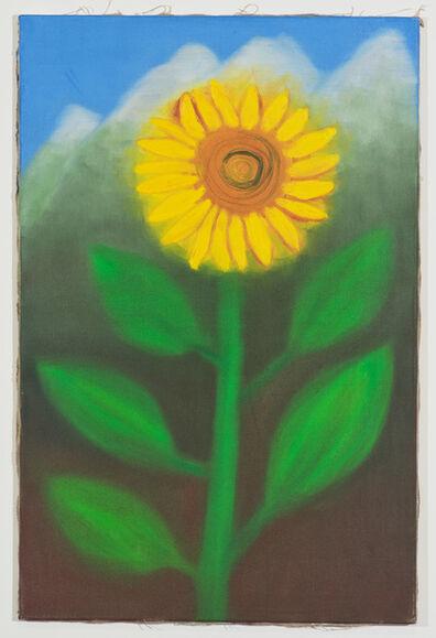 Miriam Cahn, 'Blumenfamilie in Meinem Garten', 2017
