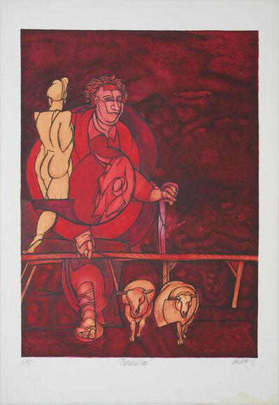 Valerio Adami, 'Thorvaldsen', 1982