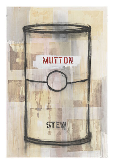 Jaune Quick-to-See Smith, 'I See Red: Mutton Stew', 1995