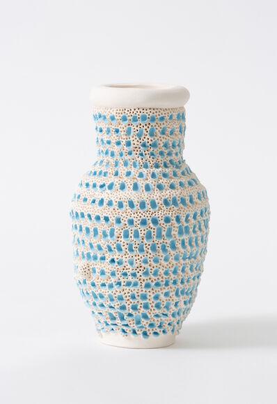 Glenn Barkley, 'blue pox vase', 2019