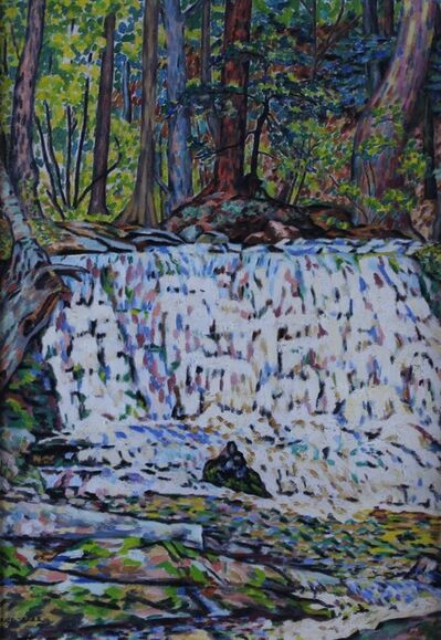 ede-else, 'Waterfall', Circa 1940