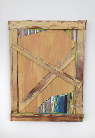 Leslie Wayne, 'Boarded', 2017