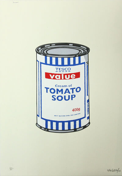 Banksy, 'Soup Can - Original Colourway', 2005
