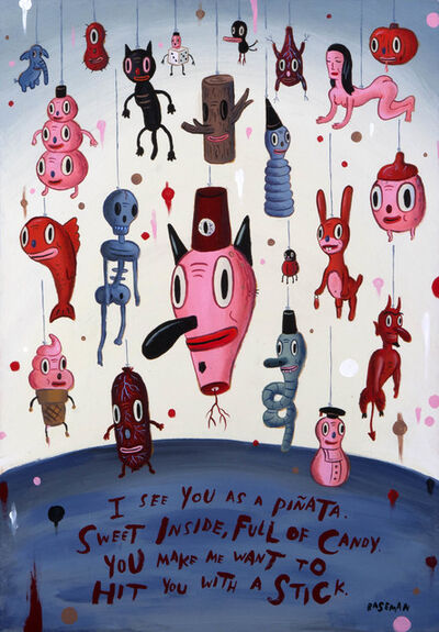 Gary Baseman, 'I am your piñata', 2002