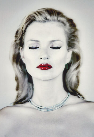 Chris Levine, 'Kate Moss (She's Light)—Eyes Closed)', 2014