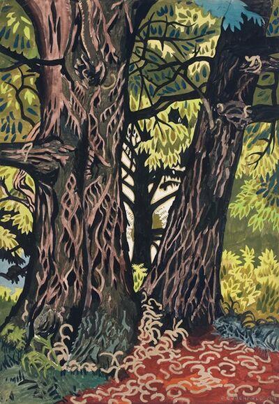 Charles Ephraim Burchfield, 'Chestnut Trees', 23