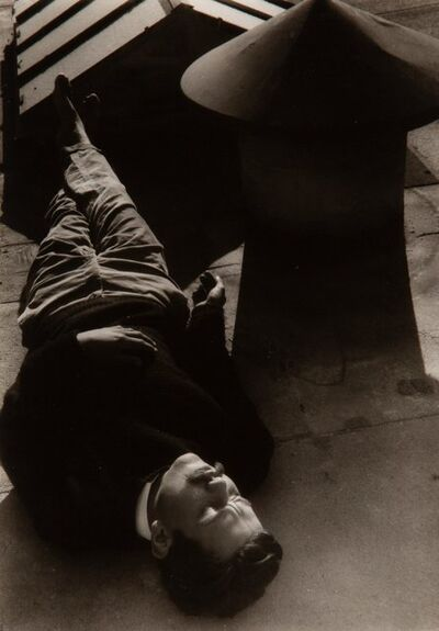 Edmund Teske, 'Man on Roof (Ed Carillo, Los Angeles)'