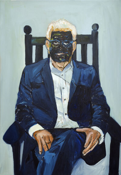Beverly McIver, 'Larry Inspired by Francis Bacon', 2018