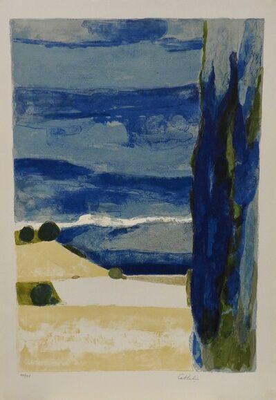 Bernard Cathelin, 'Paysage de la Drome', 1977
