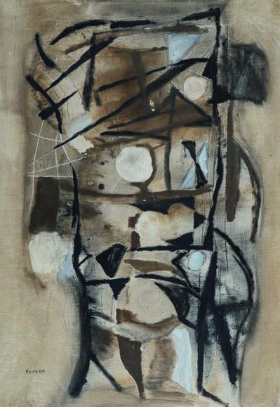 Jacques Duthoo, 'Composition', 1955