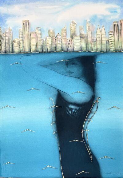 Humberto Castro, 'Woman holding the city', 2021