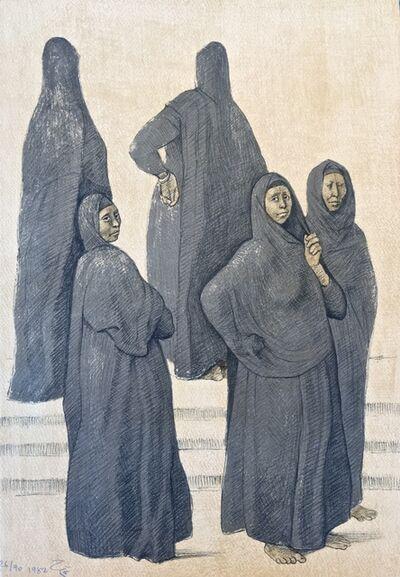 Francisco Zúñiga, 'Impressions of Egipto (Egypt) plate 3', 1982