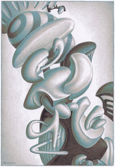 Didier Mazuru, 'Mécanosphère 2', 1988-1993