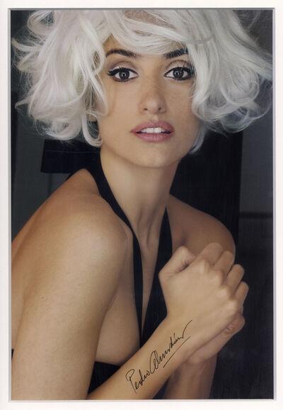 Pedro Almodóvar, 'Penelope as Marilyn', 2008