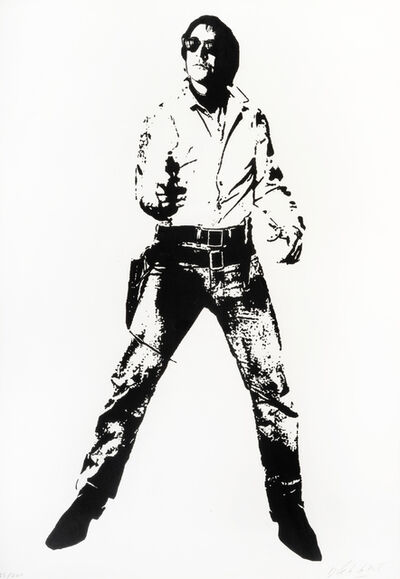Blek le Rat, 'Space Cowboy ', 2007