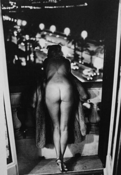 Helmut Newton, 'Winnie at the Negresco, Nice', 1975