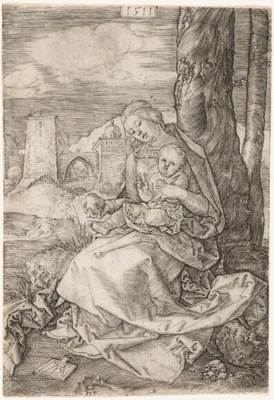 Albrecht Dürer, 'Madonna With the Pear', 1511
