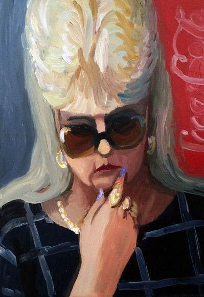 Anna Lukashevsky, 'Head of a Woman No. 3', 2016