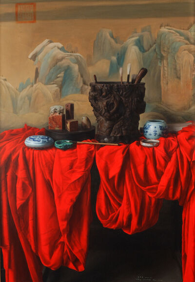 Weidong Wang, 'Still Life With Brushes', 2003