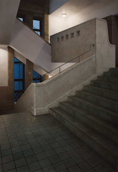 Hisaya Taira, 'Stairway#5-museum', 2009
