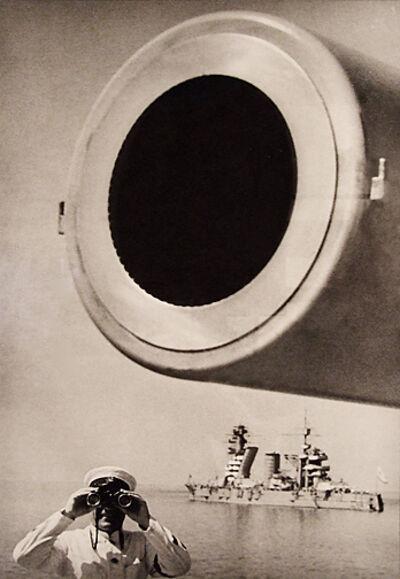 Yakov Khalip, 'Large Bore Cannon, The Baltic Fleet', 1936