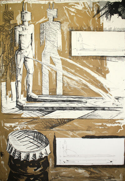 Andres Nagel, 'Sin título 1', 1991