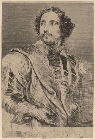 Anthony van Dyck, 'Paulus Pontius', probably 1626/1641