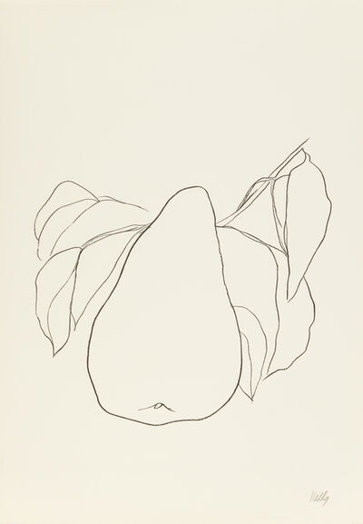 Ellsworth Kelly, 'Pear III', 1965-1966