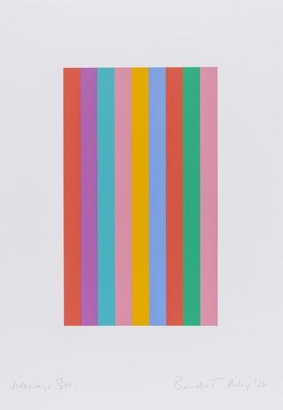 Bridget Riley, 'Sideways (Schubert 76)', 2011