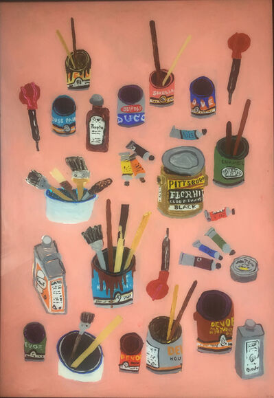 Rose Eken, 'Paint Cans And Brushes', 2016