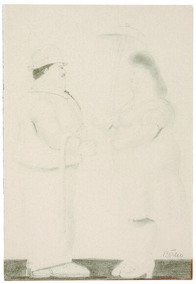 Fernando Botero, 'Couple', 1978