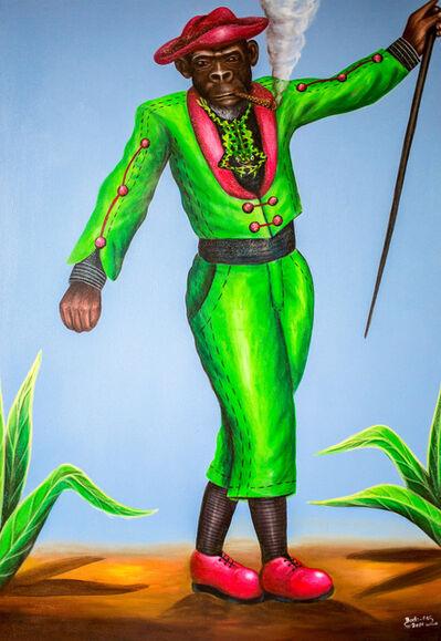 Bodo Fils BBM (M'Pambu Bodo Bodo), 'Singe grenouillé', 2016