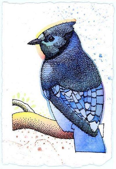 Ray-Mel Cornelius, 'Blue Jay', 2015