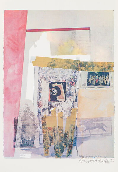 Robert Rauschenberg, 'Watermark', 1973