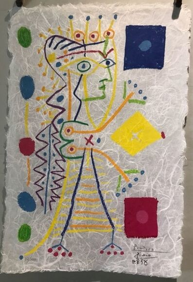 Pablo Picasso, 'Jacqueline (White) ', 1958