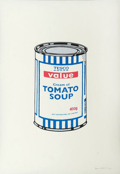 Banksy, 'Soup Can - Signed', 2005