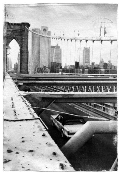 Pierpaolo De Bona, 'New York, Brooklin Bridge', 1998