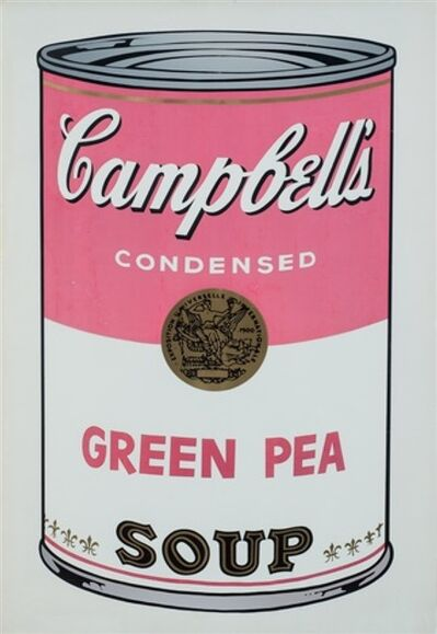 Andy Warhol, 'Campbell's Soup - Green Pea', 1968