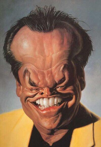 Sebastian Kruger, 'Jack Nicholson', 1991