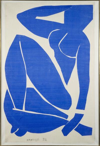 Henri Matisse, 'Blue Nude III', 1952