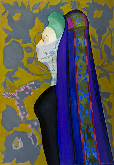 Joseph Stella, 'The Veiled Lady (The Persian Lady)', 1926