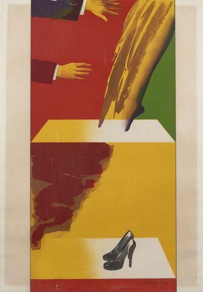 Allen Jones, 'Plate A from Magician Suite', 1976