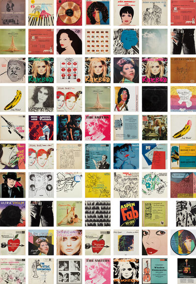 Andy Warhol, 'A Collection of Record Covers with Cover Art by Andy Warhol', 1949-87