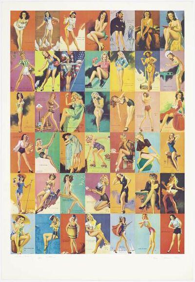 Peter Phillips, 'Glamour Girls', 1974