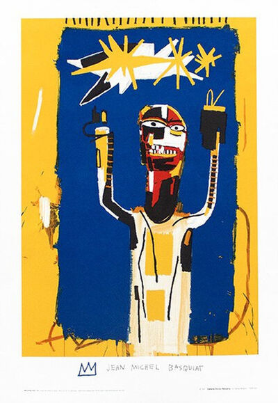 Jean-Michel Basquiat, 'Welcoming Jeers', 1997