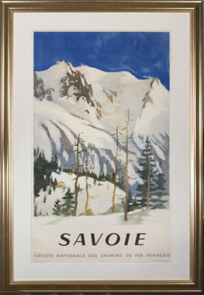 Lucien Joseph Fontanarosa, 'Savoie (Societe Nationale des Chemins de Fer Francais)', 1948
